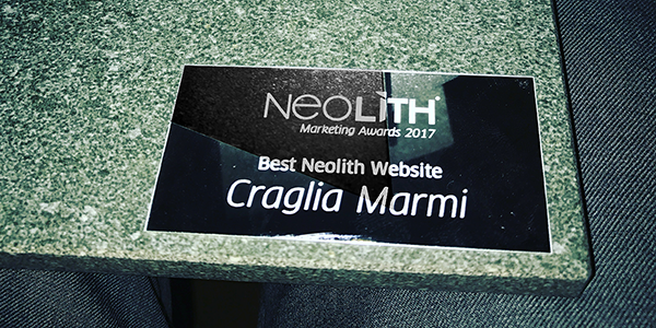 Craglia Marmi Group wins the Best Neolith Website